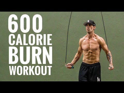 600 Calorie Burn Jump Rope Workout