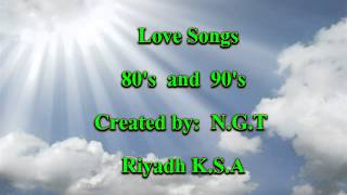 Love Song Mix 80's And 90's