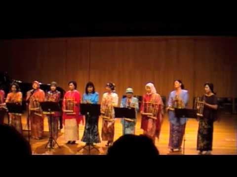 Manuk Dadali Angklung -  Conservatorium 2010