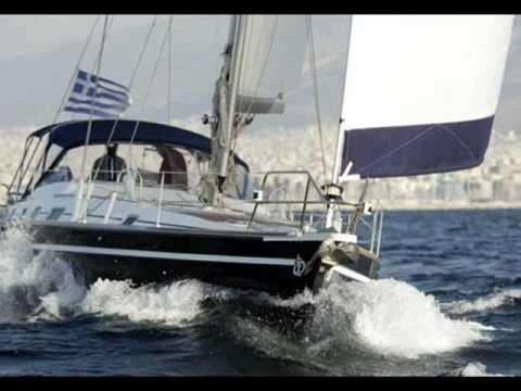 Charter Sailing Yacht Ocean Star Oceanos in Greece.wmv