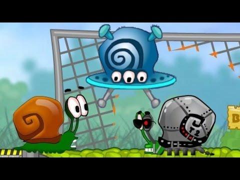 Игра Улитка Боб 4 в космосе онлайн Snail Bob 4 In Space