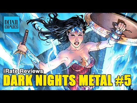 Metal #5 Means More Music, Magic & Martian Manhunter (DC Metal #5) || iRate Reviews