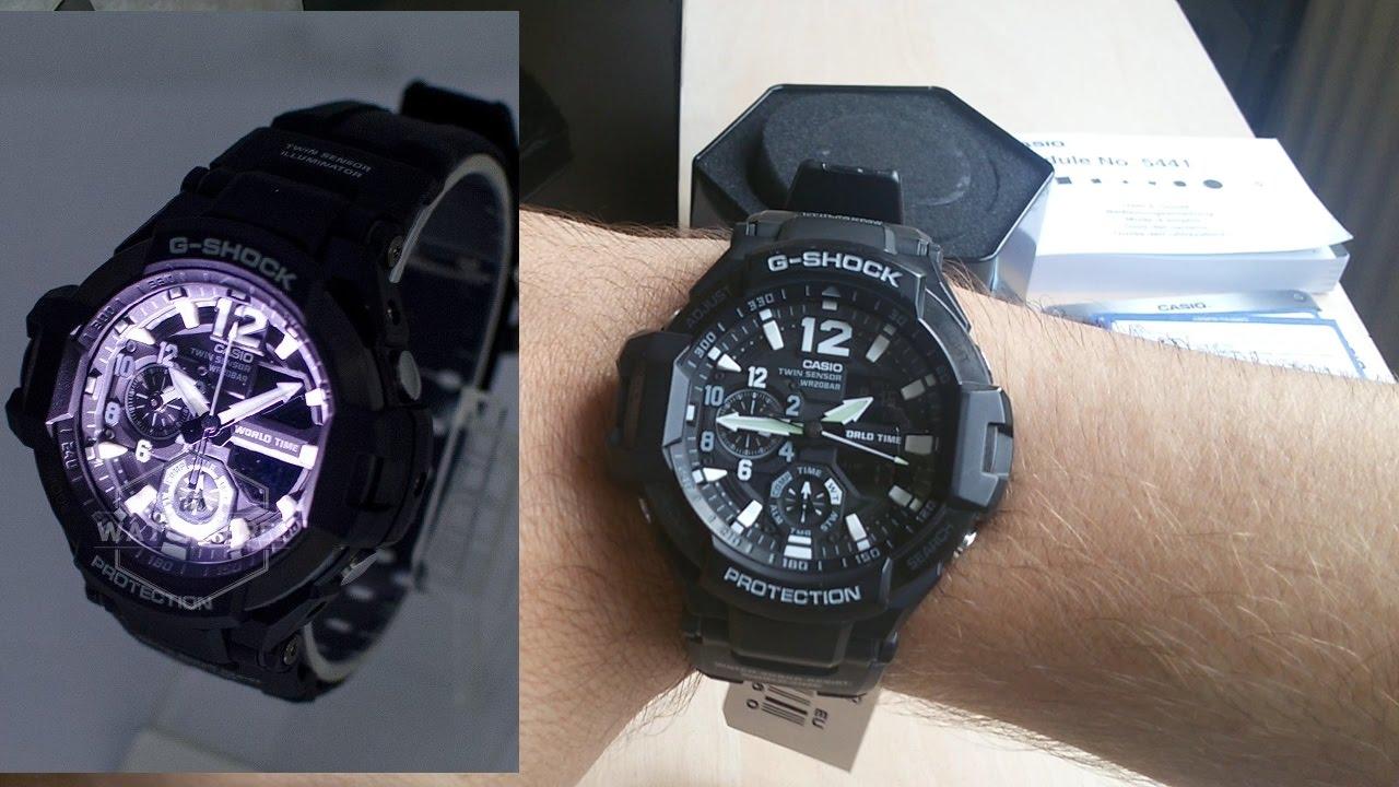 2018 Model Ga 1100 Casio Watch G Shock Gravity Master Unboxing Gshock