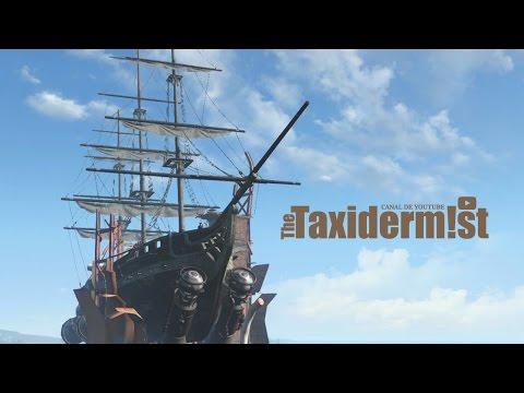 Volando en el USS Constitution + Reacciones de compañeros | Fallout 4
