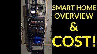 SMART HOME 2018 Overview amp COST!! - Alexa, Audio, Lighting, Cameras, Wiring