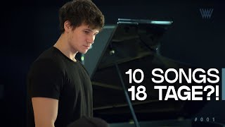 10 SONGS in 18 TAGEN?!  [Wincent Weiss Album-VLOG #001]