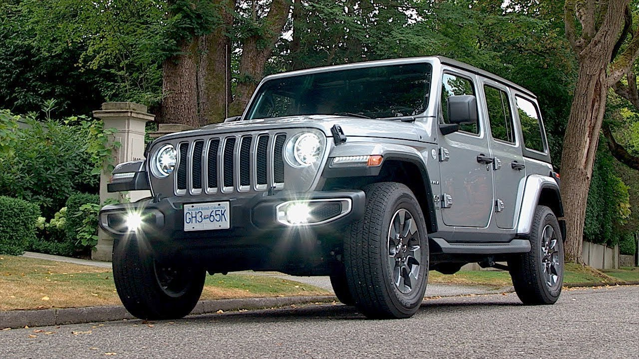 All New 2018 Jeep Wrangler Jl Review