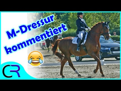 Kommentierte M**-Dressur 🦄 #Turnier