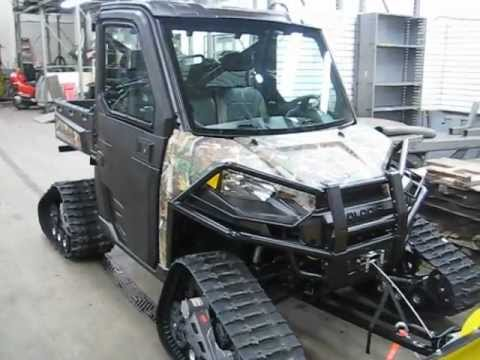 New Polaris Ranger 900 Efi Browning Limited Edition Xut