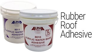 RV Roof Adhesive