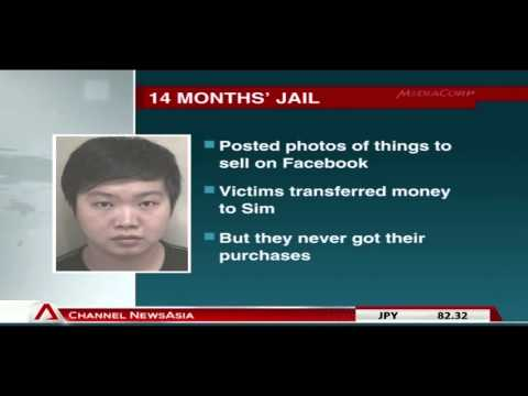 22-year-old jailed for theft and cheating 53 victims from facebook - 11Dec2012