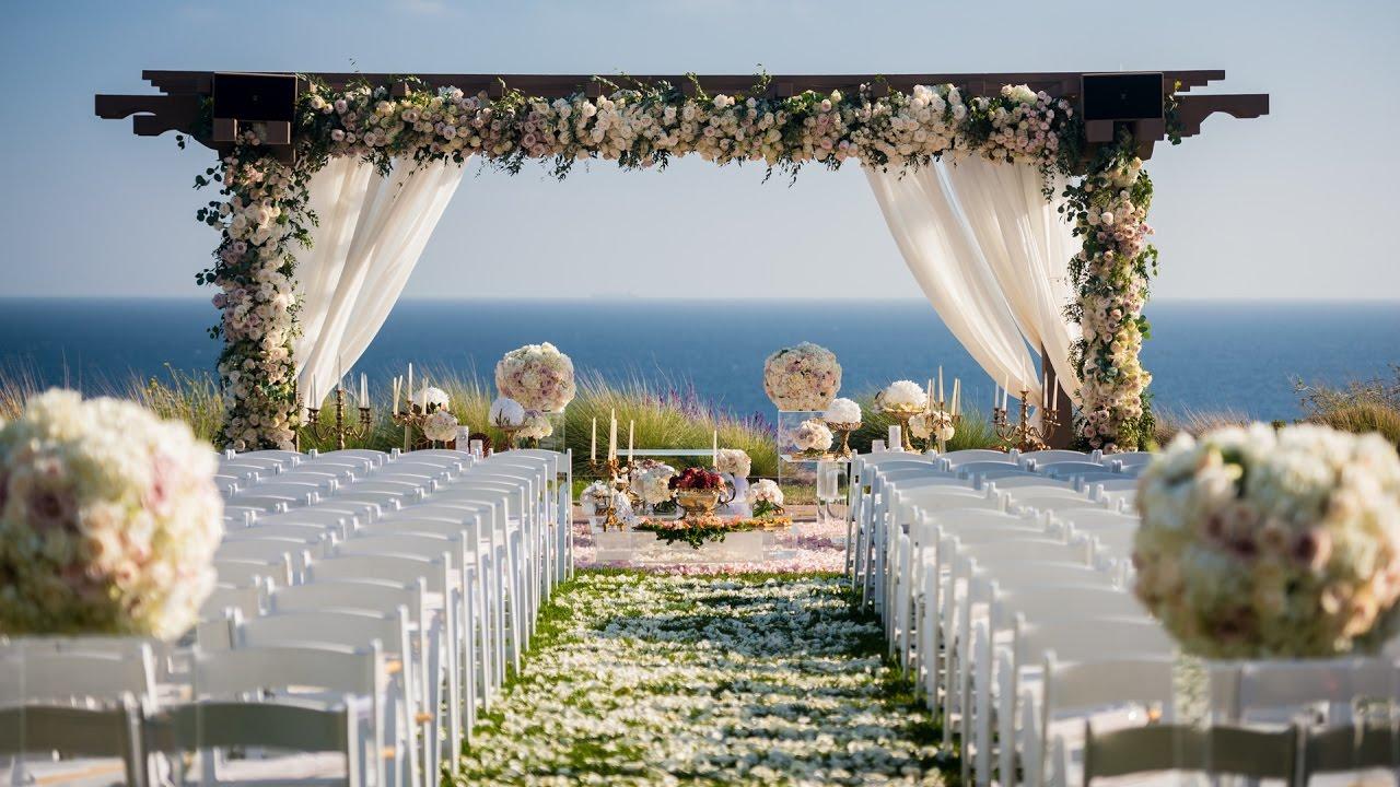 Terranea Resort Wedding Details Highlight Shiba Ryan