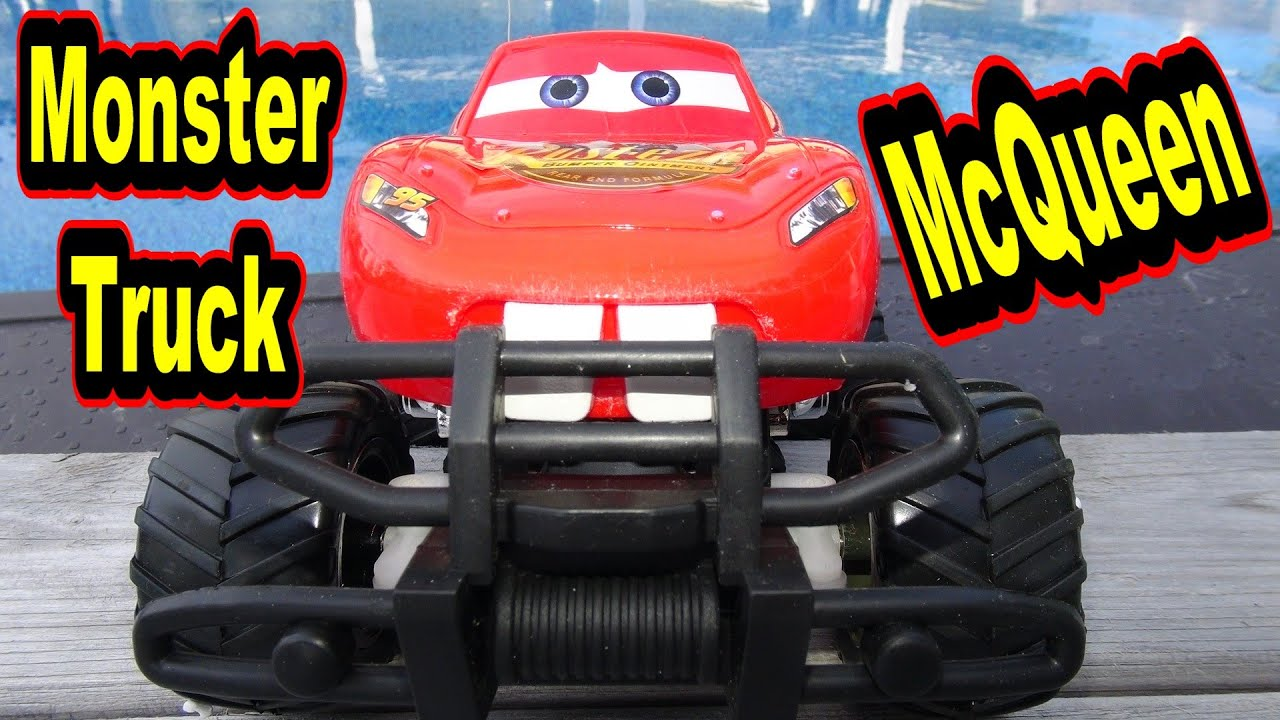 The World's Launch of Monster Truck Lightning McQueen with ...