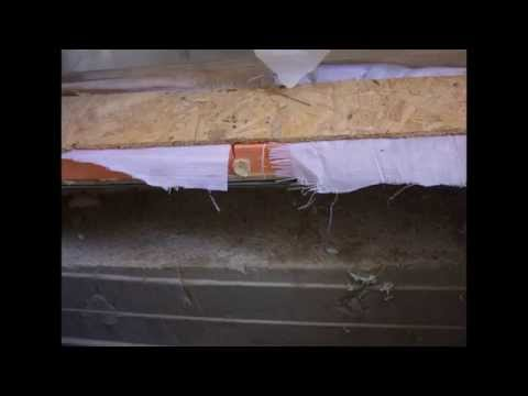 видео: Репортаж со строительства дома по технологии ЛСТК