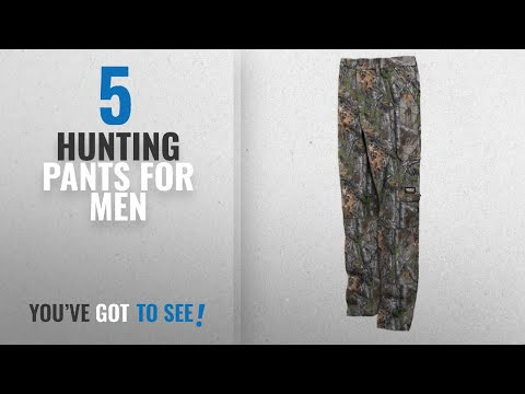 Top 10 Hunting Pants For Men [2018]: Walls Men's Legend 6-Pocket Cargo Pant With DryIQ Water
