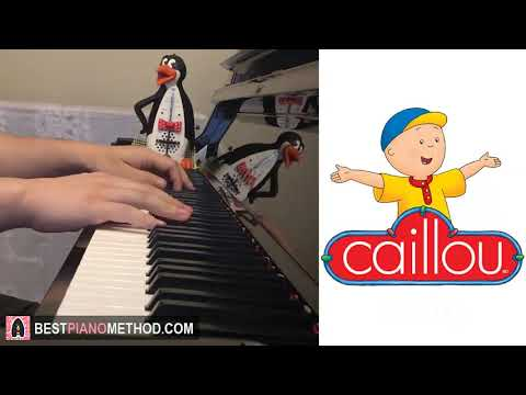 Caillou Theme Song (Piano Cover by Amosdoll)