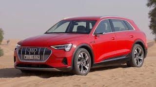 2019 Audi e-tron | Catalunya Red | Exterior, Interior