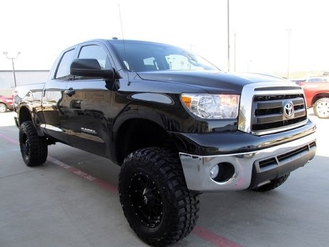 2011 Lifted Toyota Tundra 4WD Double Cab Rough Country Lift - YouTube