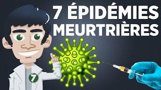7 épidémies parmi les plus meurtrières de l