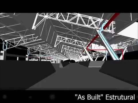 "Estruturas  ""As Built"" com Laser Scanning 3D"