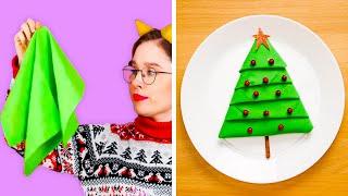 أفكار طريفة لتزيين منزلك لموسم الأعياد ||  حيل لعيد الكريسماس!