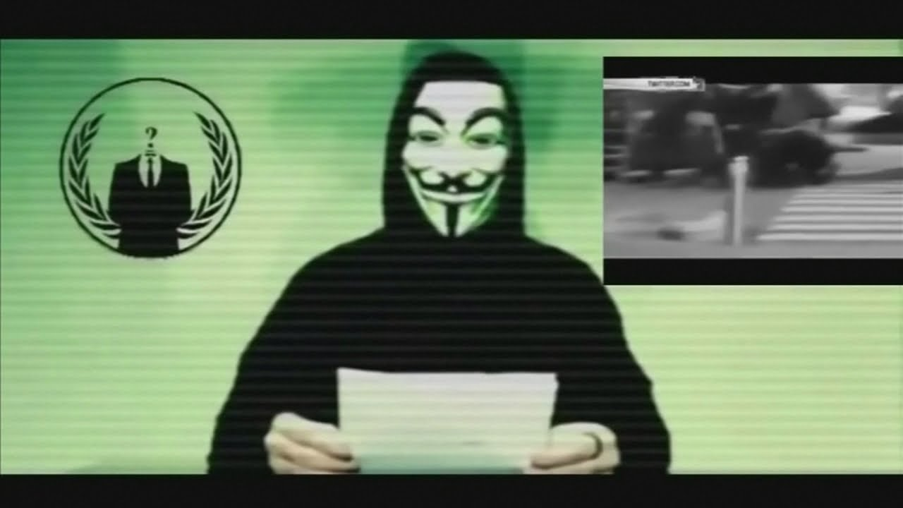 "Anonymous hackers declare ""war"" on Islamic State - YouTube"