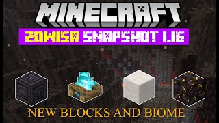 Minecraft 1.16 Snapshot 20w15a New Basalt Deltas - Blackstone - Dispenser Changes