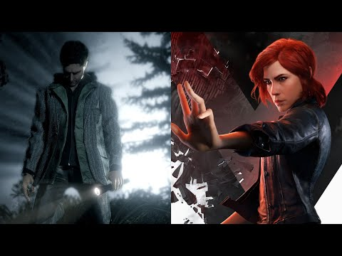 Control & Alan Wake Crossover - AWE DLC First 20 Minutes Gameplay (No Commentary) |