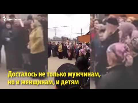 В Чечне силовики попытались испугать жителей