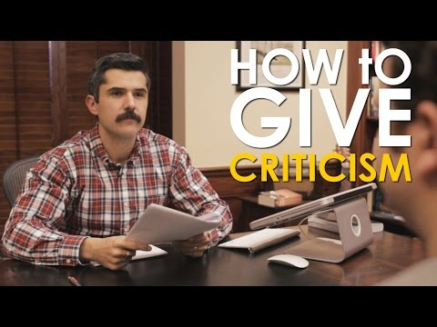 How to Criticize (and Take Criticism) | The Art of Manliness