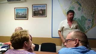 нервный ТИК Тропарево-Никулино  пытается запретить съемку