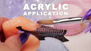 Download DIY Nail Workshop - Acrylic Application Mp3 and Videos