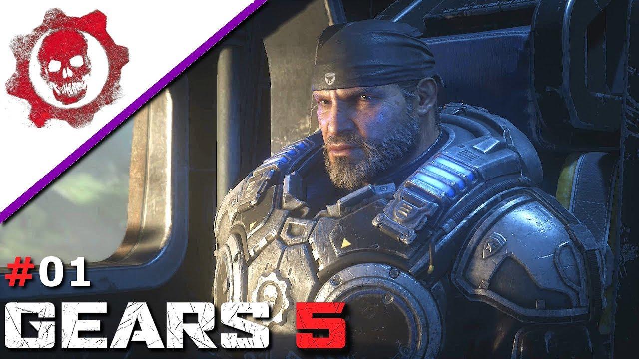 Gears 5 Story #01 - Der Anfang - Let's Play Deutsch