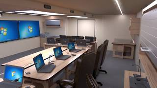 3D моделирование мобильного конференц-зала