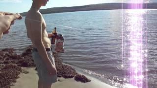 Кольский залив рыбалка лето