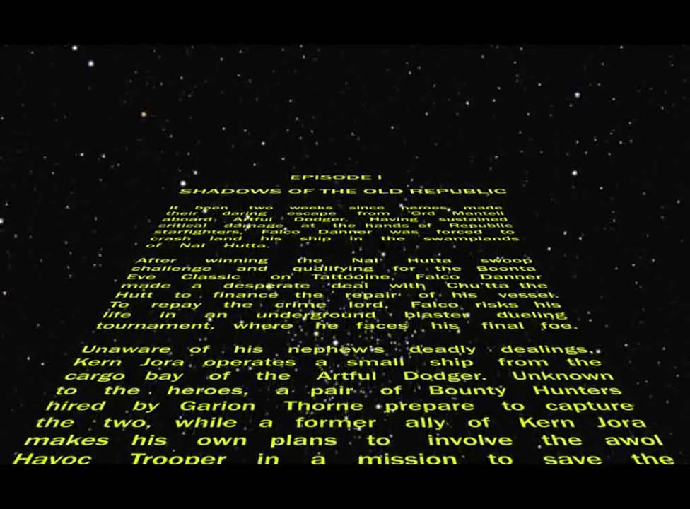 an introduction to the analysis of the movie star wars These are just a few interpretations, and though the force is clearly central to the  action of the star wars films, it ultimately remains mysterious lucas seems to.