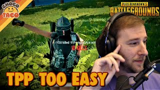 TPP Too Easy - chocoTaco PUBG Solos Gameplay