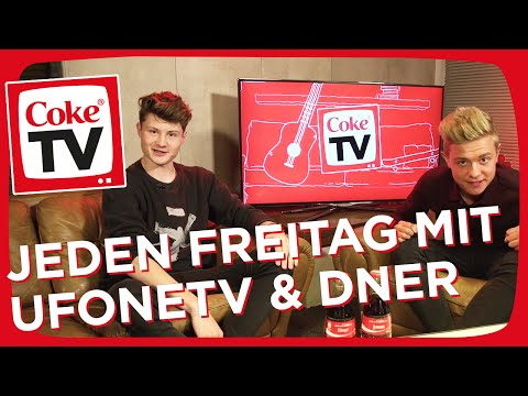 UFONETV und Dner - Das neue CokeTV Dream Team