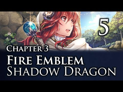 Part 5: Let's Play Fire Emblem Shadow Dragon, Classic Merciless, Chapter 3 -