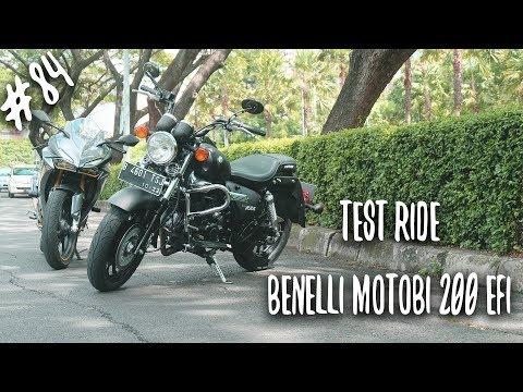 #84 Test Ride Benelli Motobi 200 EFI