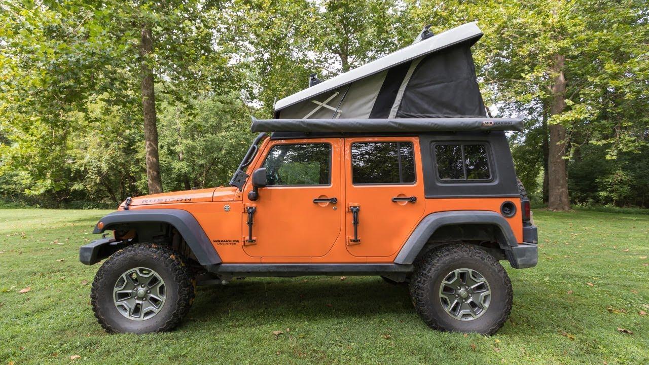 Walk Around: Chris Shontz' Jeep Wrangler w/ Ursa Minor J30 - August