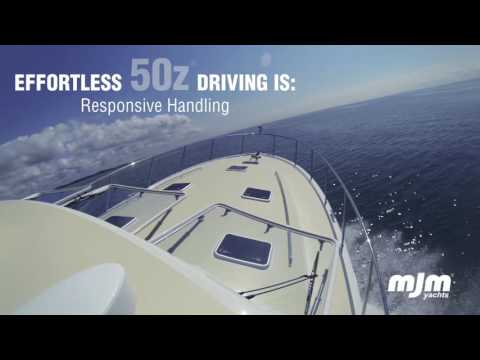 MJM Yachts 50z The Luxury of Effortless Driving