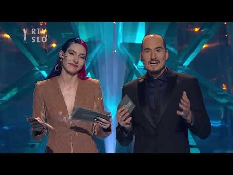 Ema 2018: razglasitev zmagovalke (Lea Sirk)