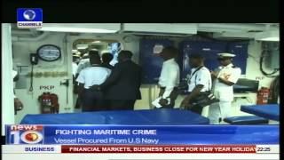 News@10: Fighting Maritime Crime: Nigerian Navy Acquires Warship 02/01/15 Prt2