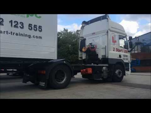 How to Couple and Uncouple a trailer. Class 1 HGV - 2 Start Training - Top Tips