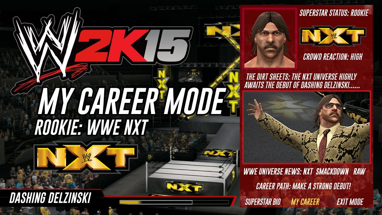 WWE 2K15 CAREER MODE.