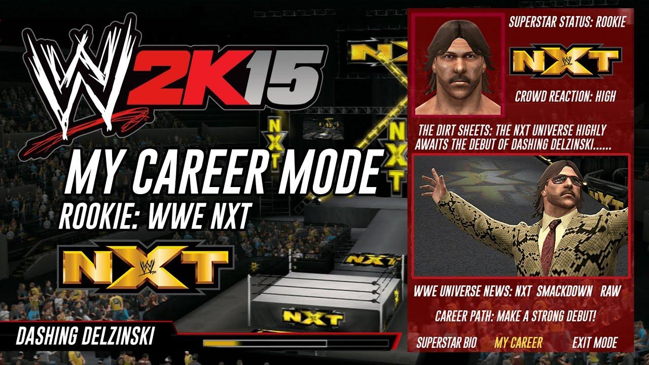 WWE 2K15 CAREER MODE.