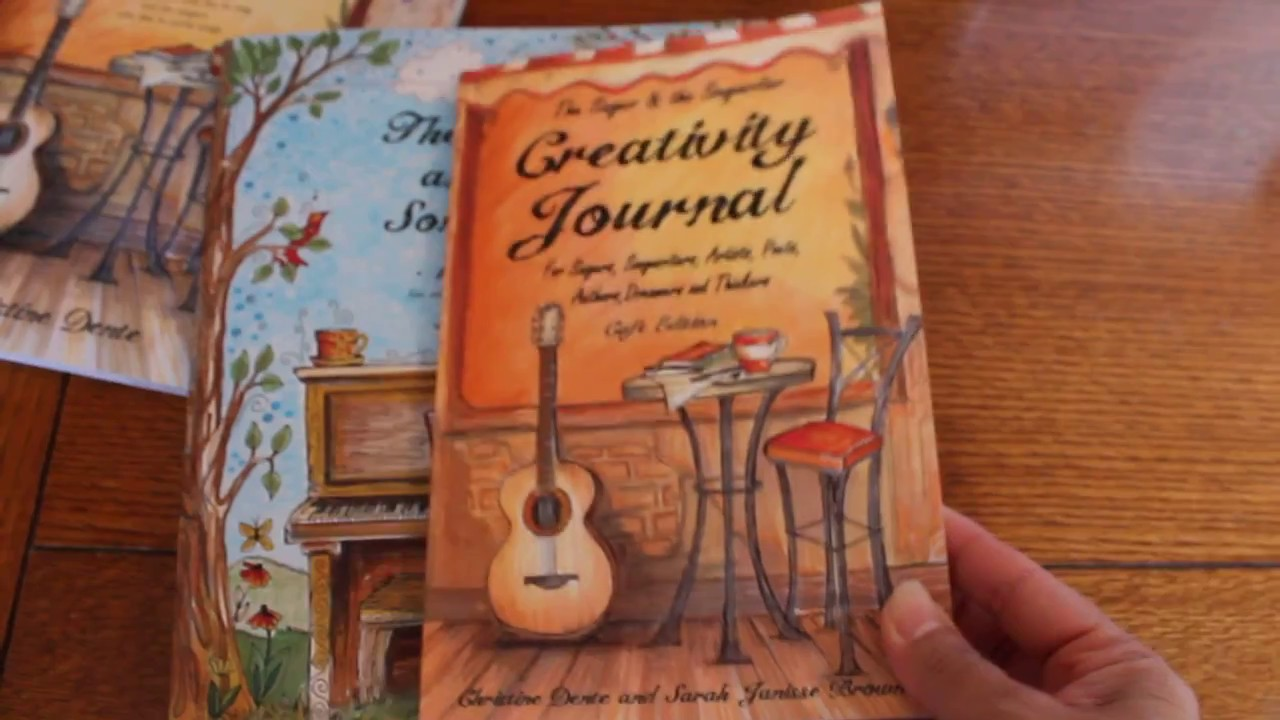 Creativity Journal - For Singers, Songwriters, Artists, Poets, Writers,  Dreamers and Thinkers