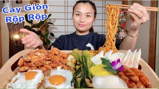 Cua Lột Tẩm Gia Vị Chiên Giòn,Mì Cay,Phô Mai,Xúc Xích,Trứng Chiên Ngon Bá Đạo Trên Từng Hạt Gạo #504