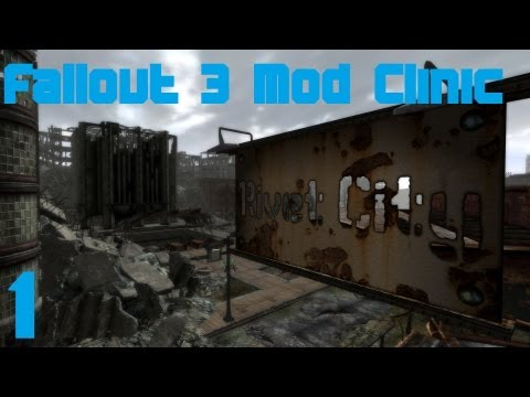 Fallout 3 Mod Clinic part 1 : Remastered, Blackened and Merg